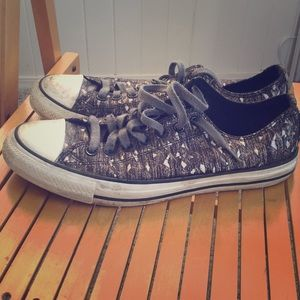 Iridescent canvas special Converse All Stars